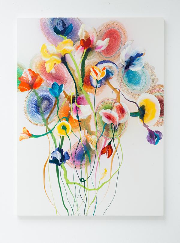 Instant Karma Silva, 160x130 cm, 2017 copie