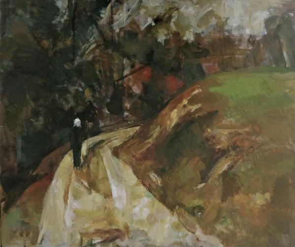 EB 2012.03 Wanderin Öl/Holz 55x65