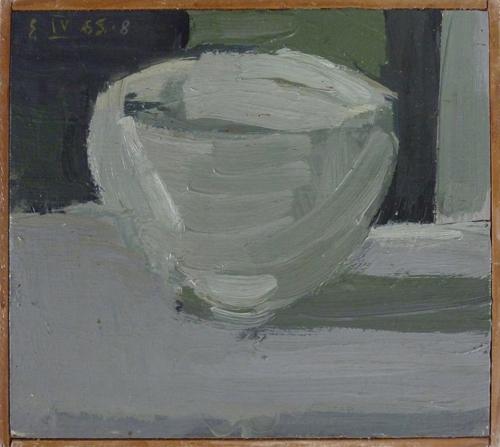 EB 1965.6 Tasse Öl_Pavatex 19x21