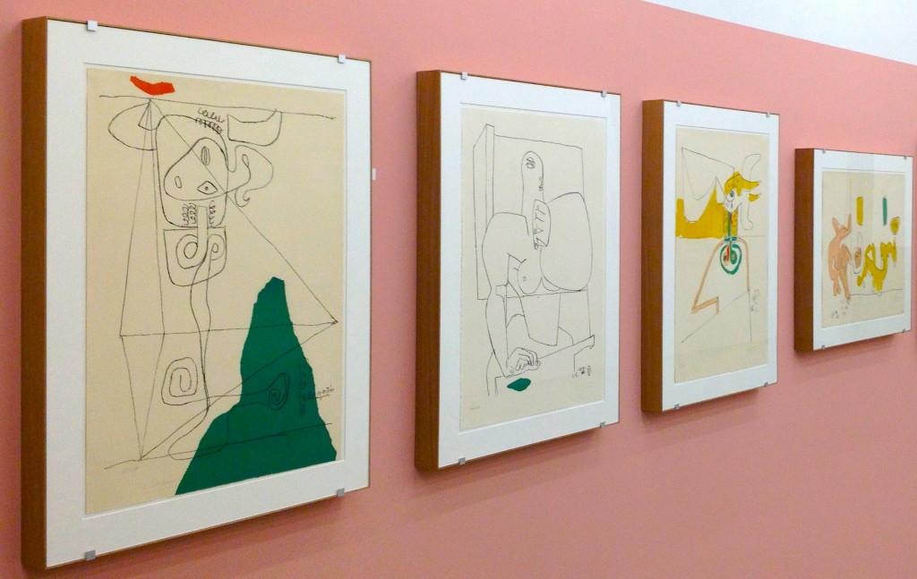 Rahmen Le Corbusiers   Galerie Mera