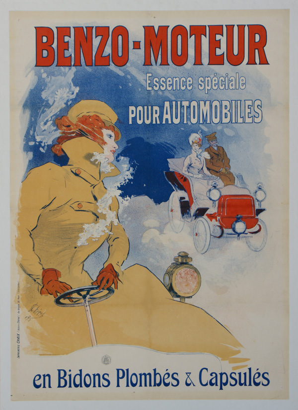 Jules Chéret, 1900: Benzo-Moteur