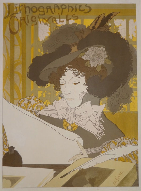 Georges de Feure, 1896: Lithographies Originales