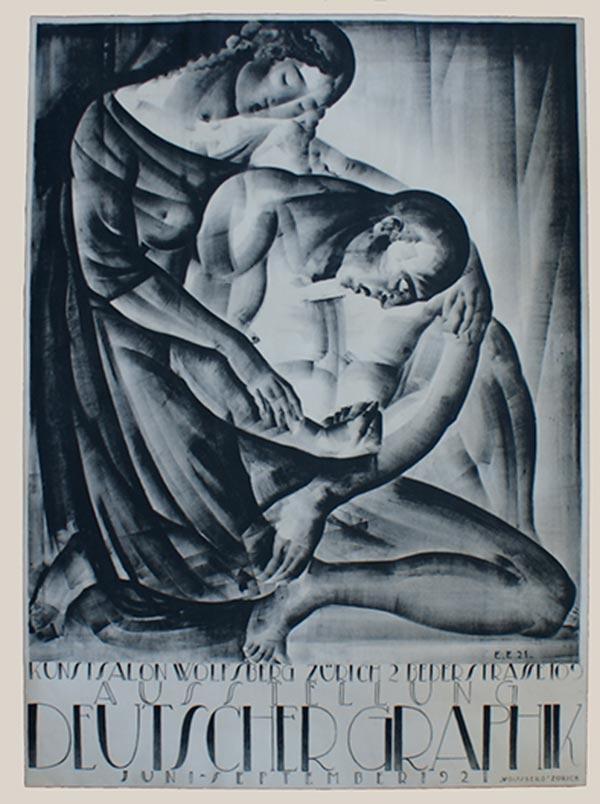 Eugen Ehmann, 1921: Deutsche Graphik