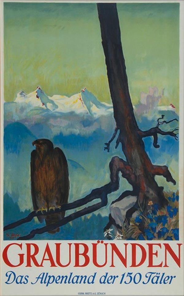 Eduard Stiefel, 1927 - Graubünden