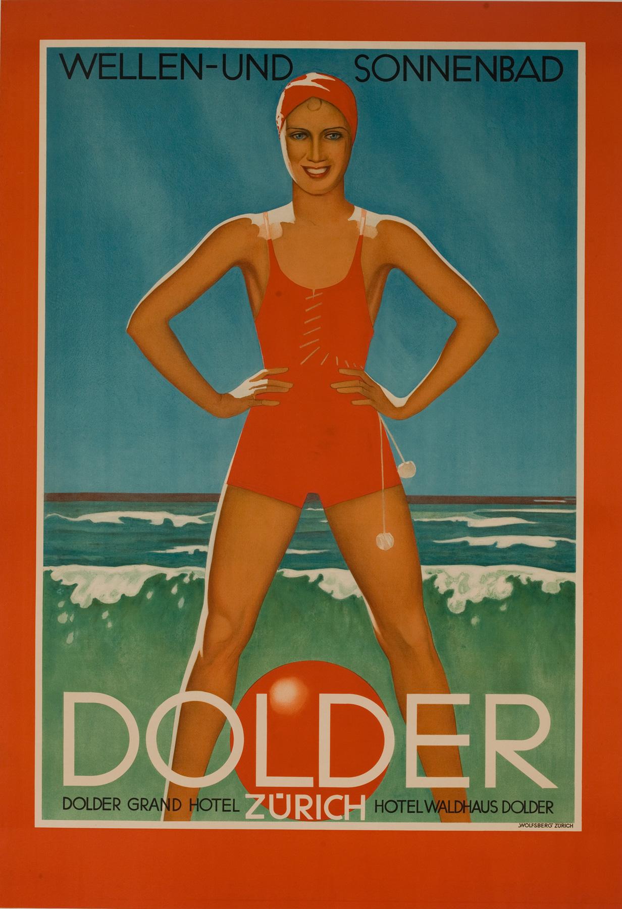 Johann Arnhold, 1935: Dolder Grand Hotel – Wellen- und Sonnenbad