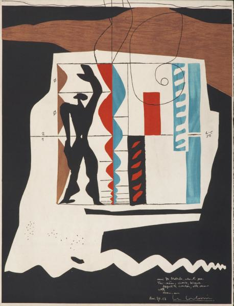 Le Corbusier - Modulor, 1. Auflage, 1956