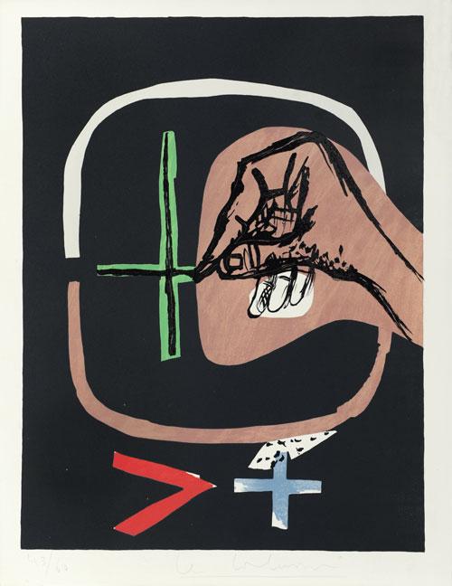 Le Corbusier - Poème de l'angle droit, No. 19