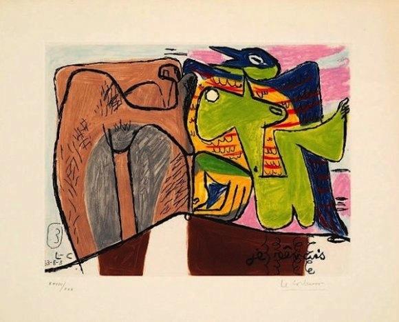 Le Corbusier - Unité, No. 3