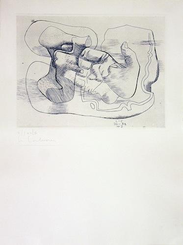 Le Corbusier - Main et silex