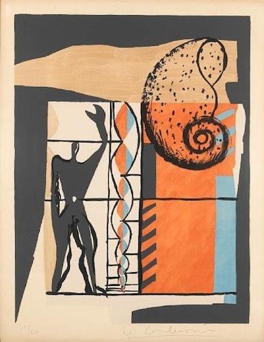 Le Corbusier - Poème de l'angle droit, No. 6