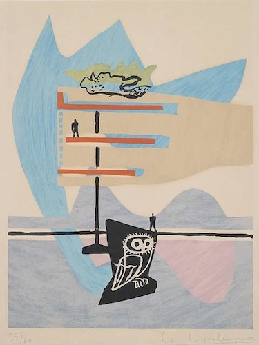 Le Corbusier - Poème de l'angle droit, No. 7
