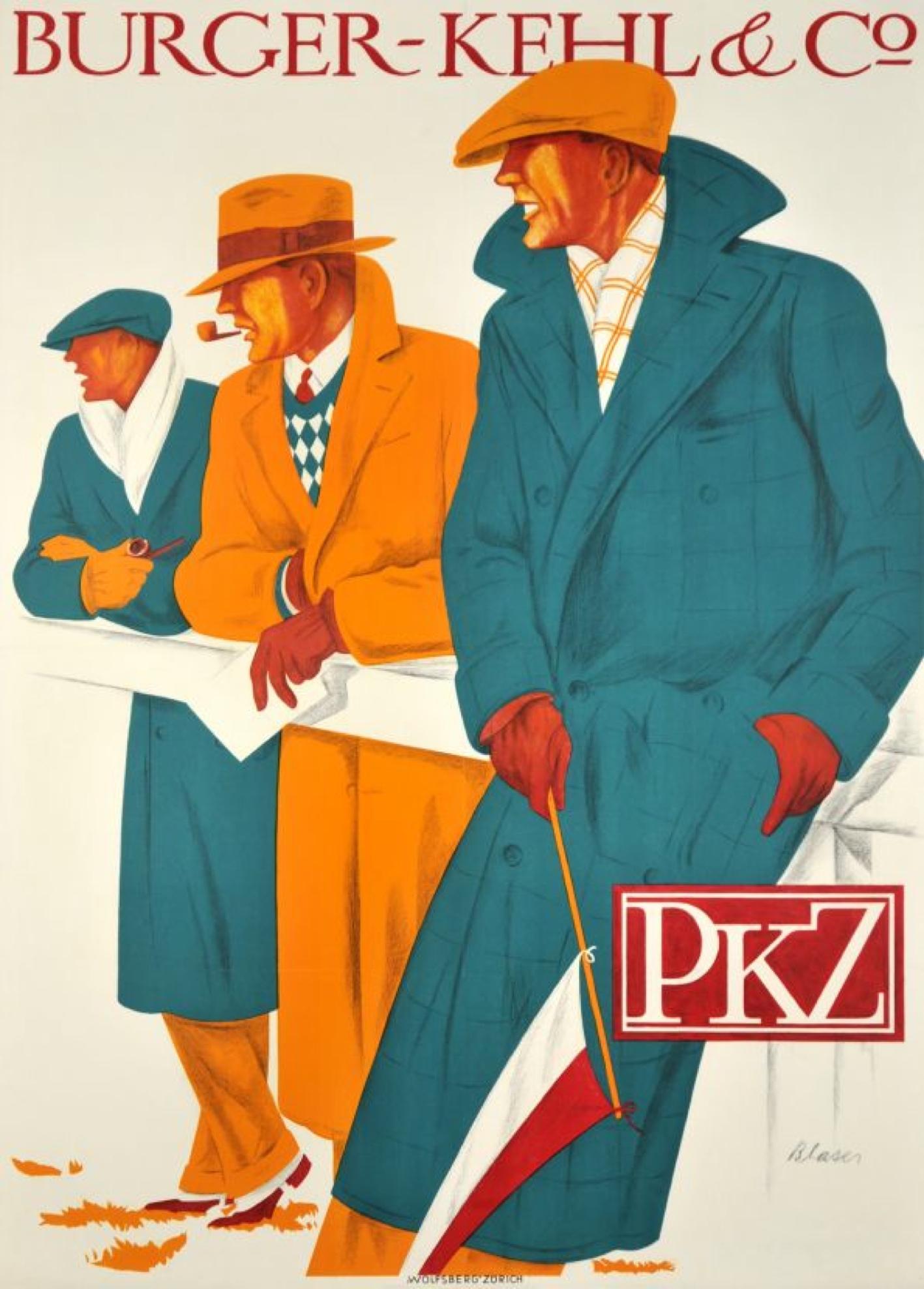 Hermann Blaser, 1926: PKZ