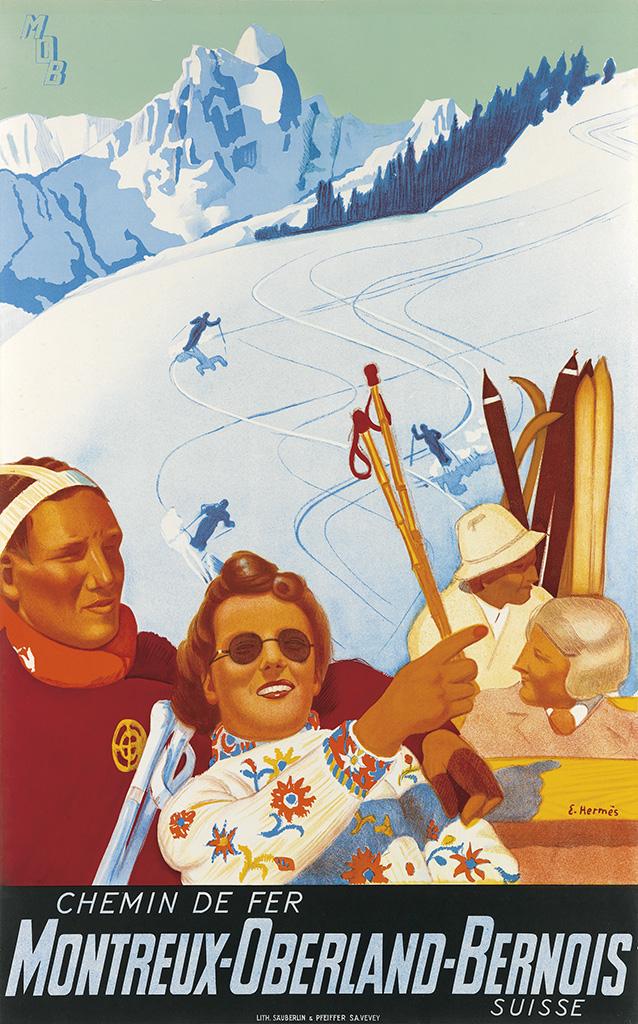 Eric Hermès: Chemin de Fer Montreux-Oberland-Bernois, 1929