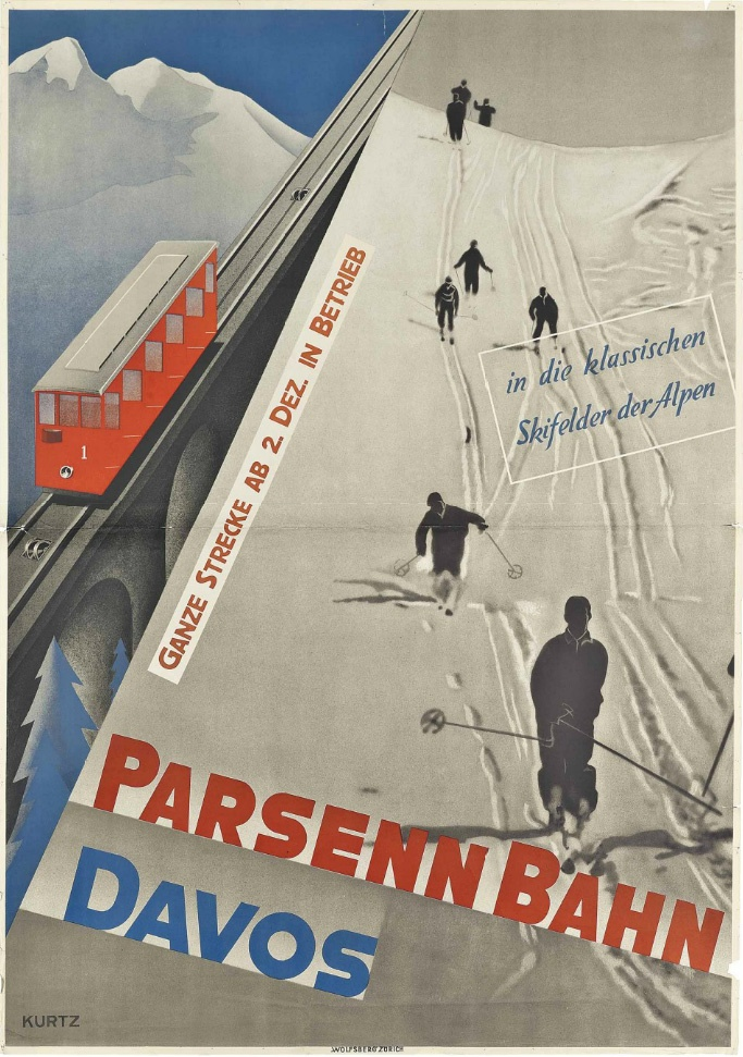 Helmut Kurtz, 1932: Parsenn-Bahn Davos