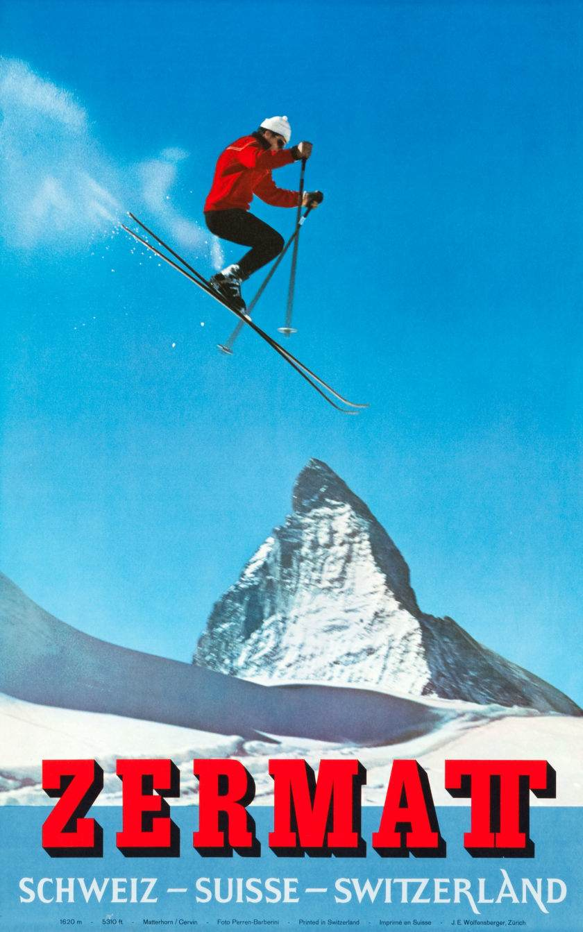 Alfred Perren-Barberini, 1965 - Zermatt