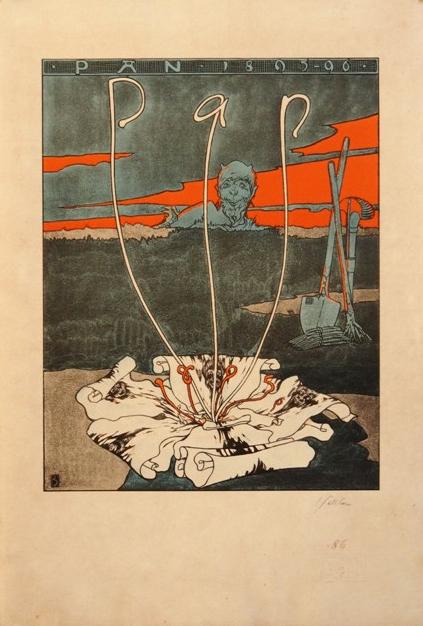 Josef Sattler, 1895: Pan, handsigniert und nummeriert