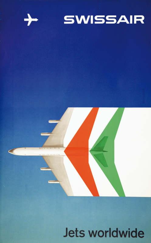Max Schneider, 1959: Swissair