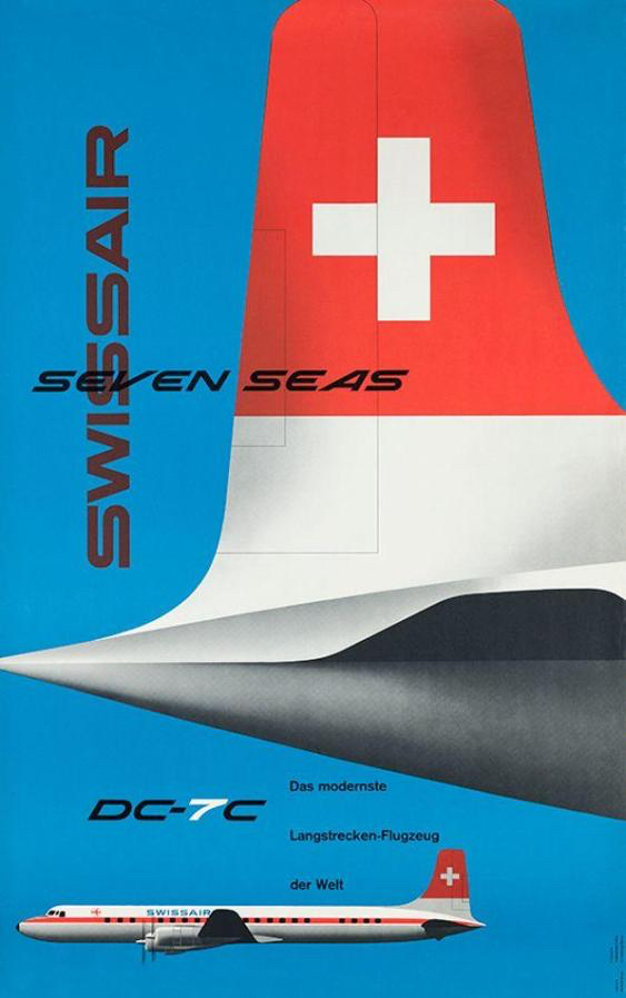 Kurt Wirth, 1956: Swissair