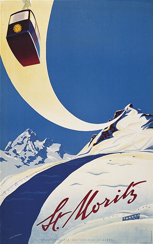 Martin Peikert, 1955: St. Moritz